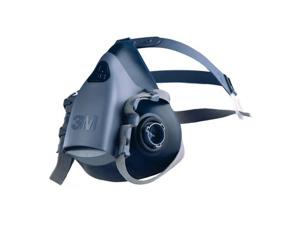 Afbeelding van 3M 7503 Halfgelaatsmasker Blauw L Halfgelaatsmaskers Met Bajonetaansluiting