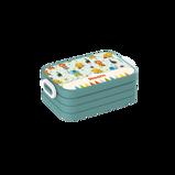 Abbildung vonCircus Brotdose Take a Break In Wunschfarbe, mit Foto oder Namen bedrucken Mepal Lunchbox