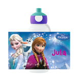 Abbildung vonFrozen Trinkflasche Pop up mit Namen von Kind bedrucken Mepal Trinkflasche Campus Disney Pop up Campus