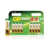 Afbeelding vanGP Alkaline Batterij AA 1.5 V Super 8 Promotional Blister