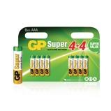 Afbeelding vanGP Alkaline Batterij AAA 1.5 V Super 8 Promotional Blister
