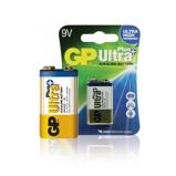 Afbeelding vanGP Alkaline 9 volt batterij ultra+