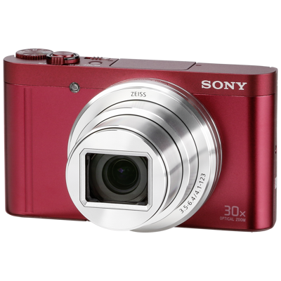 Afbeelding van Sony Cybershot DSC WX500 rood (DSCWX500R.CE3)