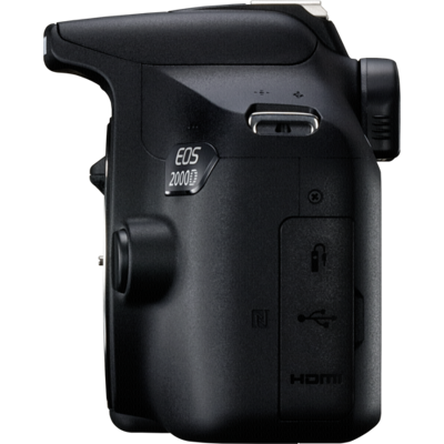 Afbeelding van Canon EOS 2000D body spiegelreflex camera