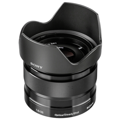 Afbeelding van Sony 35mm F1.8 Optical Steadyshot E mount