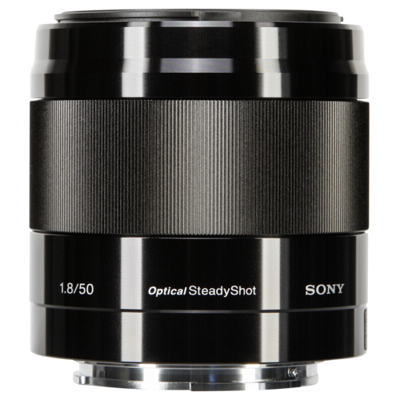 Afbeelding van Sony SEL 50mm F/1.8 OSS zwart E mount (SEL50F18B.AE)