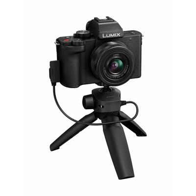 Afbeelding van Panasonic Lumix DC G100 systeemcamera + 12 32mm DMW SHGR1 Tripod Grip
