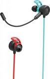 Afbeelding vanHori Nintendo Switch gaming earbuds PRO headset neon blauw/rood