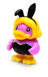 Afbeelding vanB.Duck spaarpot eend 10e roze konijn 16 cm
