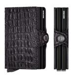 Afbeelding vanSecrid Twin Wallet Portemonnee Nile Black Dames portemonnees