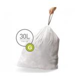 Afbeelding vanSimplehuman Afvalzakken Code G 30 Liter (20 stuks) afvalzak