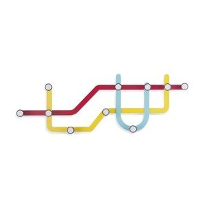 Afbeelding van Kapstok Metro Umbra Subway Multi Hook