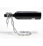 Afbeelding vanPeleg design wijnfles standaard ketting Drink Up chroom