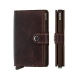 Afbeelding vanSecrid Mini Wallet Portemonnee Vintage Chocolate Dames portemonnees