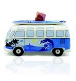 Afbeelding vanBrisa Spaarpot Volkswagen T1 bus Surf Blauw