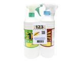 Afbeelding van123 Products Alpha & Omega dry voordeelpakket