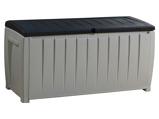 Abbildung vonKeter Novel Aufbewahrungsbox 340 L Schwarz