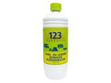 Afbeelding van123 Products tank en leidingreiniger schoonwater 1 liter Reinigen & schoonmaken
