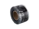 Afbeelding vanHpx stretch fuse tape 25 mm x 3 meter, zwart