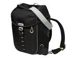 Afbeelding vanBasil Miles backpack en fietstas (Basiskleur: lime groen/zwart)