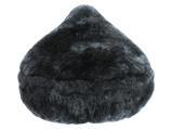 Afbeelding vanFastRider zadeldekje schapenvacht grijs 28 cm