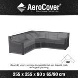 Afbeelding vanPlatinum AeroCover Loungesethoes 255 x 90 65 90(h) cm L vorm Trapeze