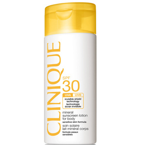 Afbeelding van 10% code LIEFDE10 Clinique Mineral Sunscreen Lotion For Body Spf30 125 Ml Zonnebrandcreme Lichaam