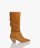 Obrázekba&sh Boots Ochre Cowby Suede