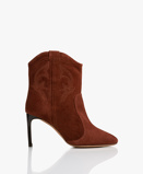 Obrázekba&sh Boots Brandy Caitlin Suede Ankle