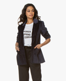 Immagine diANINE BING Blazer Ella Oversized Velvet in Ink Blue