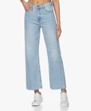 Obrázekba&sh Jeans Alix Raw Hem in Light Used Blue