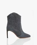 Obrázekba&sh Boots Blue GreyCaitlin Suede Ankle