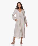 Imagine dinResort Finest Dress Franca Linen A line in Warm Sand Beige
