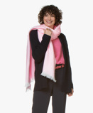 Image ofAlpaca Loca Scarf Light Pink Handmade Uni