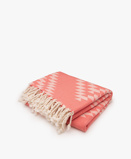 Kép:Bon Bini Hamam Towel - Coral Benge 180cm x 90cm
