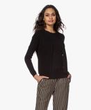 Imagine dinResort Finest Cardigan Lucca Basic Cashmere in Black