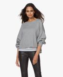 ObrázekAmerican Vintage Sweater Grey Melange Retburg Oversized