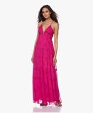 Obrázekba&sh Dress Fuchsia Masha Chiffon Printed Maxi