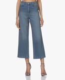 Obrázekba&sh Jeans Talent Cropped in Blue Jeans