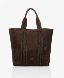 Imagine dinClosed Bag Cold Hazel Mallow Nubuck Leather Shoulder