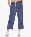 Image of American Vintage Sweatpants Satellite Ponpon Velvet Cropped