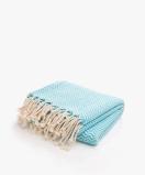 Kép:Bon Bini Hammam Towel - Chikitu Large in Turquoise