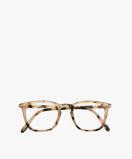Bilde avIZIPIZI #E Reading Glasses Light Tortoise with Trapezium Frame