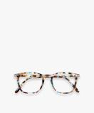 Bilde avIZIPIZI #E Reading Glasses Blue Tortoise with Trapezium Frame