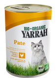 Afbeelding vanYarrah Bio Pate In Blik Kattenvoer Kip 400 gr