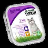 Afbeelding vanYarrah Biologisch Kattenvoer Paté Kip Kalkoen 100GR