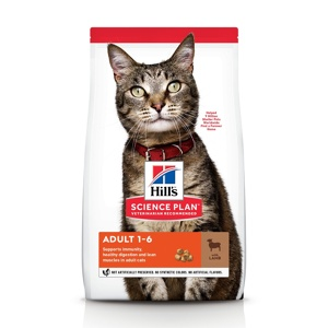 Afbeelding van 2 kg Hills Science Plan Feline Adult Lam (oude verpakking op=op...