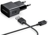 Afbeelding vanOtech Originele Samsung Oplader met Micro USB kabel 1.5m 2A 5V Zwart