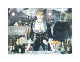 Afbeelding vanA Bar at the Folies Bergere