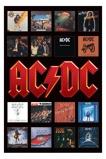 Afbeelding vanAC/DC Album Covers Poster 61x91.5cm